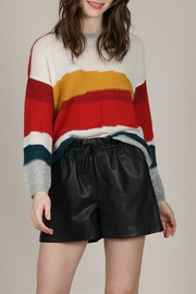 Molly Bracken Multi-Colour Stripe Sweater - Product Mini Image
