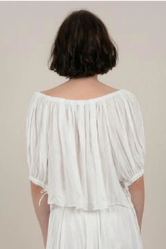 Molly Bracken Off-The-Shoulder Crinkle Top - Alternate List Image