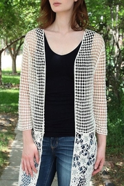 Molly Bracken Open Weave Cardigan - Product Mini Image