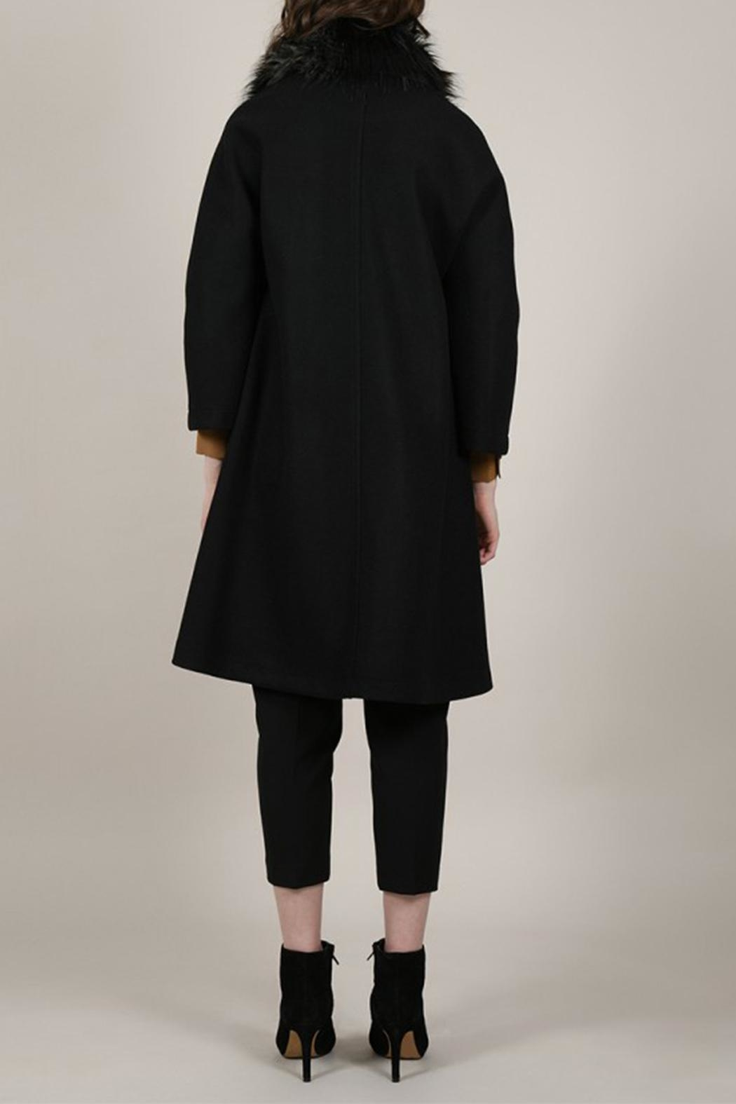Molly Bracken Overlay Coat - Side Cropped Image