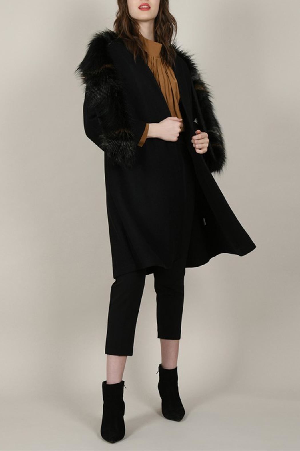 Molly Bracken Overlay Coat - Front Full Image