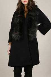 Molly Bracken Overlay Coat - Front cropped