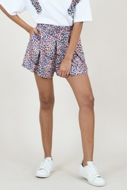 Molly Bracken Panther Print Short - Front cropped