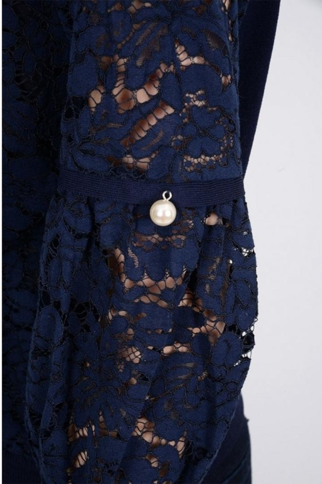 Molly Bracken Peal Lace Top - Side Cropped Image