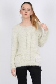 Molly Bracken Pearl Chain Sweater - Product Mini Image