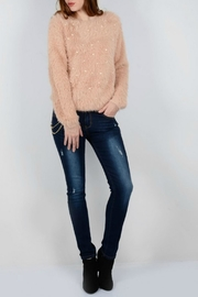 Molly Bracken Pearl Detailed  Sweater - Product Mini Image