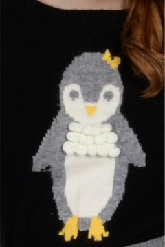Molly Bracken Penguin Knit Sweater - Alternate List Image