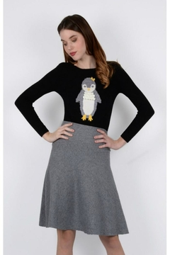 Molly Bracken Penguin Knit Sweater - Product List Image
