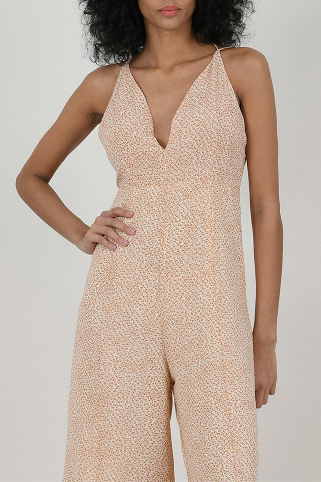 Molly Bracken Printed Jumpsuit - Back Cropped Image