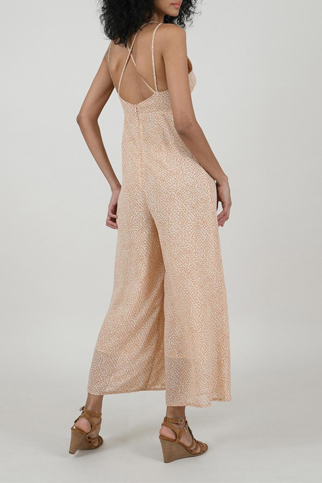 Molly Bracken Printed Jumpsuit - Side Cropped Image