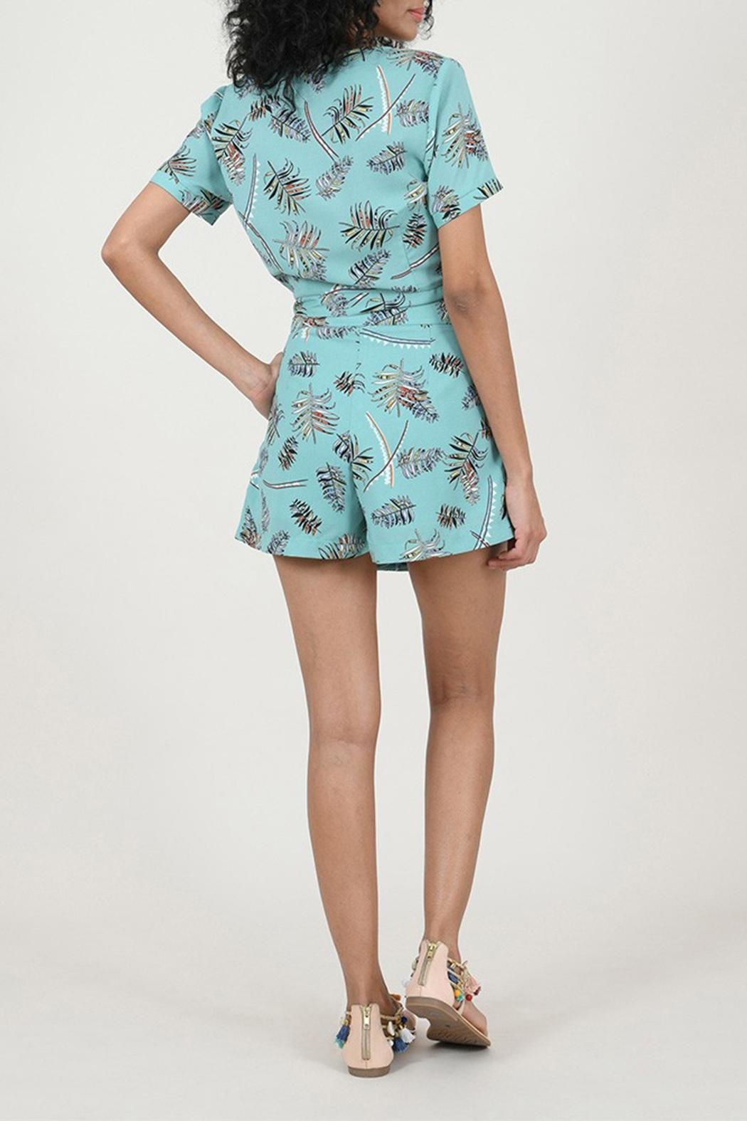 Molly Bracken Printed Top - Side Cropped Image
