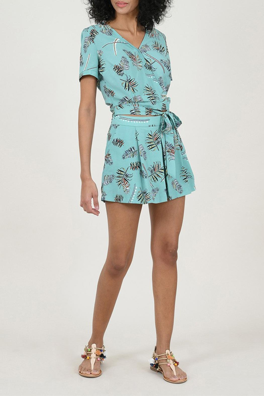 Molly Bracken Printed Top - Front Full Image