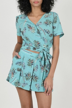 Molly Bracken Printed Top - Product List Image