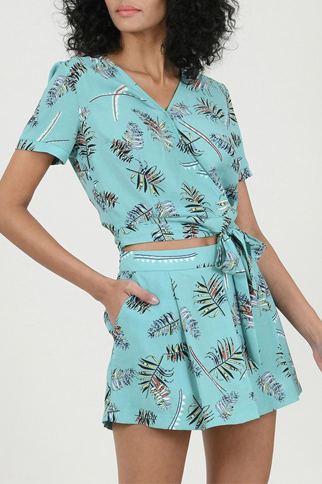 Molly Bracken Printed Top - Back Cropped Image