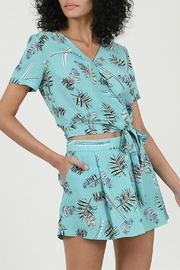 Molly Bracken Printed Top - Back cropped