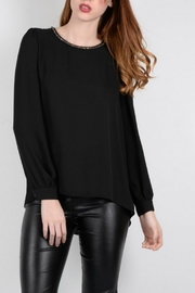 Molly Bracken Pullover Dressy Blouse - Product Mini Image