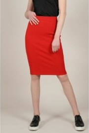 Molly Bracken Red-Hot Pencil Skirt - Product Mini Image