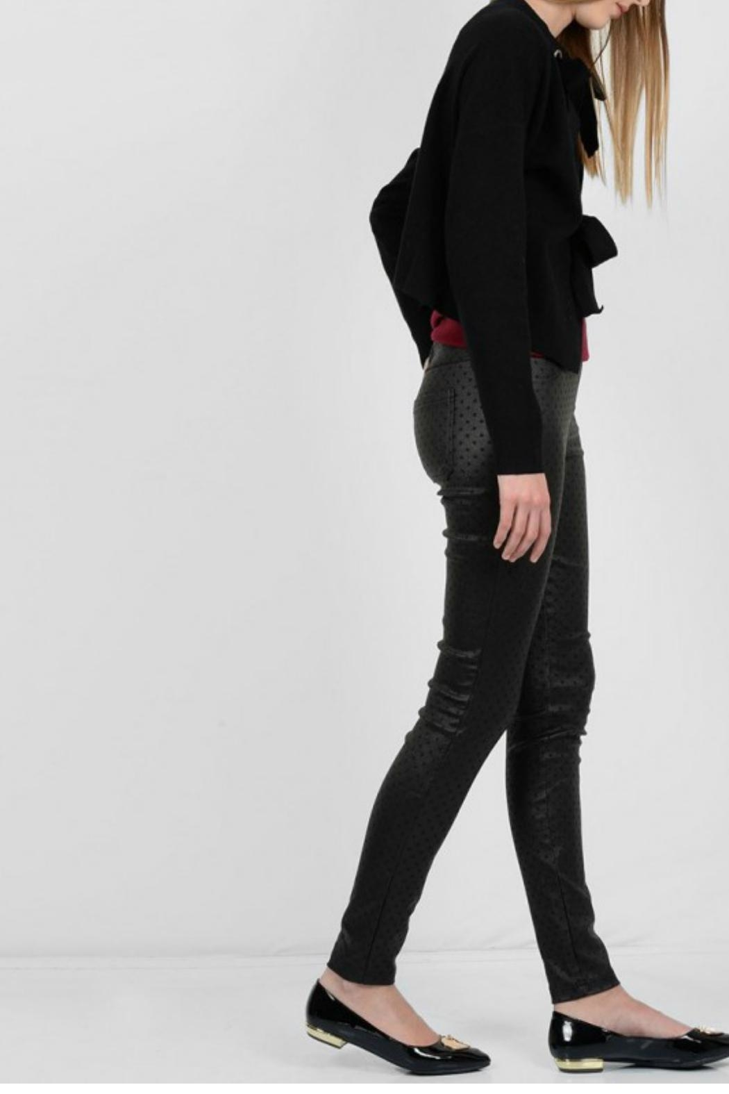 Molly Bracken Stretchy Skinny Pant - Side Cropped Image