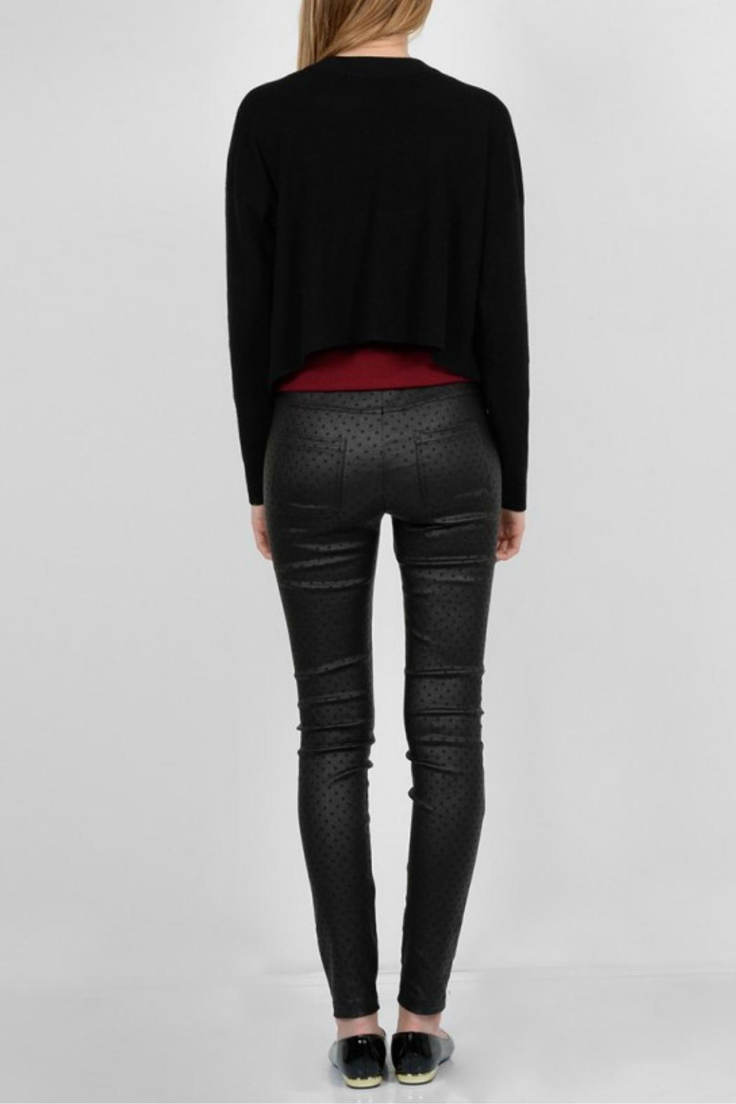 Molly Bracken Stretchy Skinny Pant - Back Cropped Image