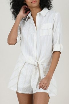 Molly Bracken Striped Blouse - Product List Image