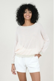 Molly Bracken Striped Fine Sweater - Front cropped