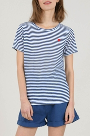 Molly Bracken Striped T-Shirt With Heart - Product Mini Image