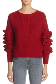 Molly Bracken Tiered Ruffle Top - Product Mini Image
