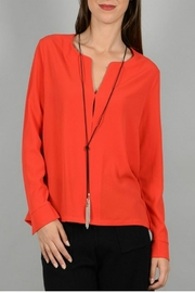 Molly Bracken Top With Necklace - Product Mini Image