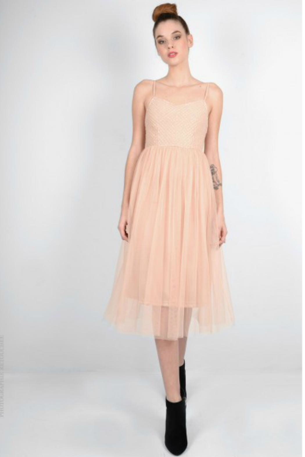 Molly Bracken Tulle Cocktail Dress - Main Image