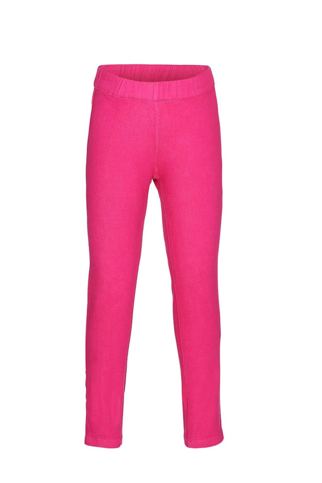 Molo April Cerise Trousers - Front Cropped Image