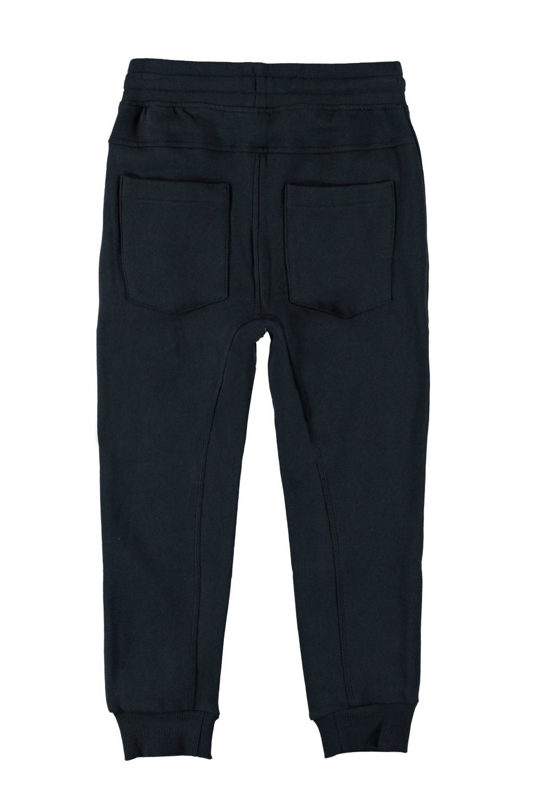 Molo Ash Carbon Trousers - Front Full Image