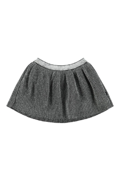 Shoptiques Product: Brina Silver Skirt