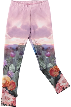 Molo Cactus Landscape Leggings - Alternate List Image