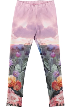 Shoptiques Product: Cactus Landscape Leggings