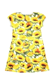 Molo Camellia Sunflowers Dress - Front full body