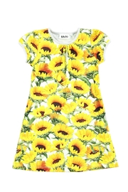 Molo Camellia Sunflowers Dress - Front cropped