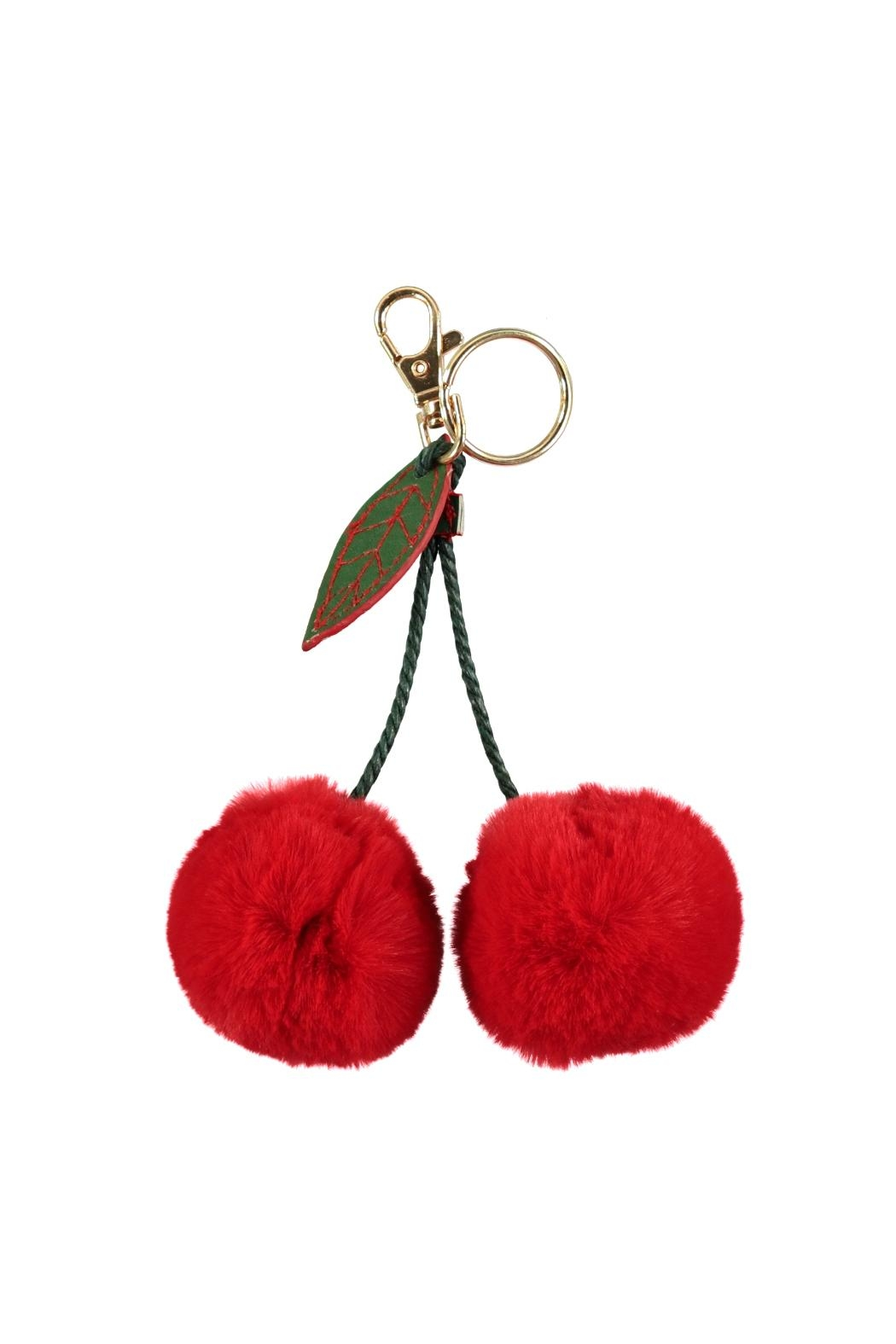 Molo Cherry Pom Pom - Front Cropped Image