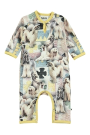 Molo Dogtastic Playsuit - Front cropped