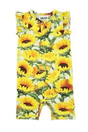 Molo Faris Sunflower Playsuit - Front cropped