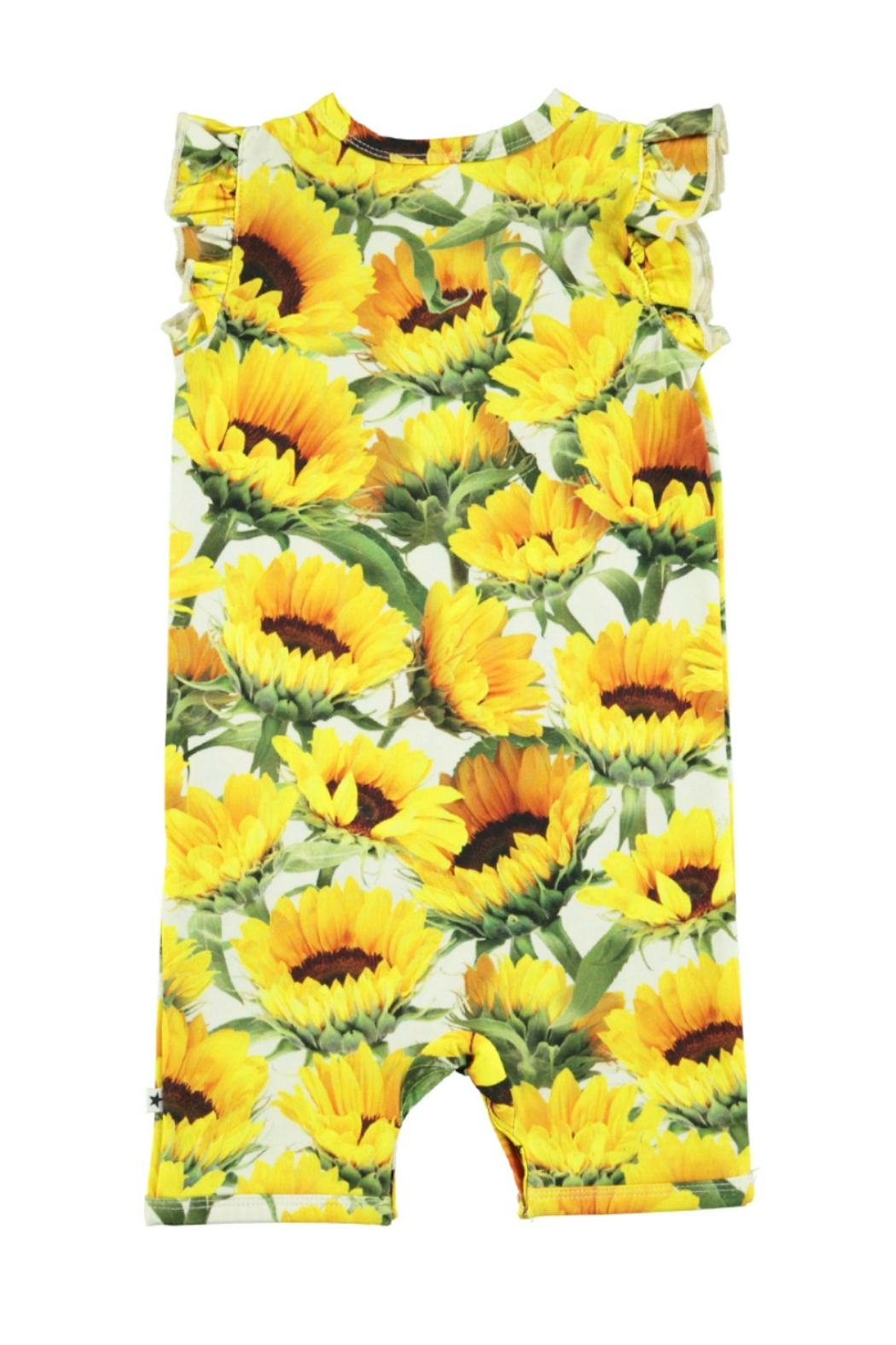 Molo Faris Sunflower Playsuit - Front Full Image