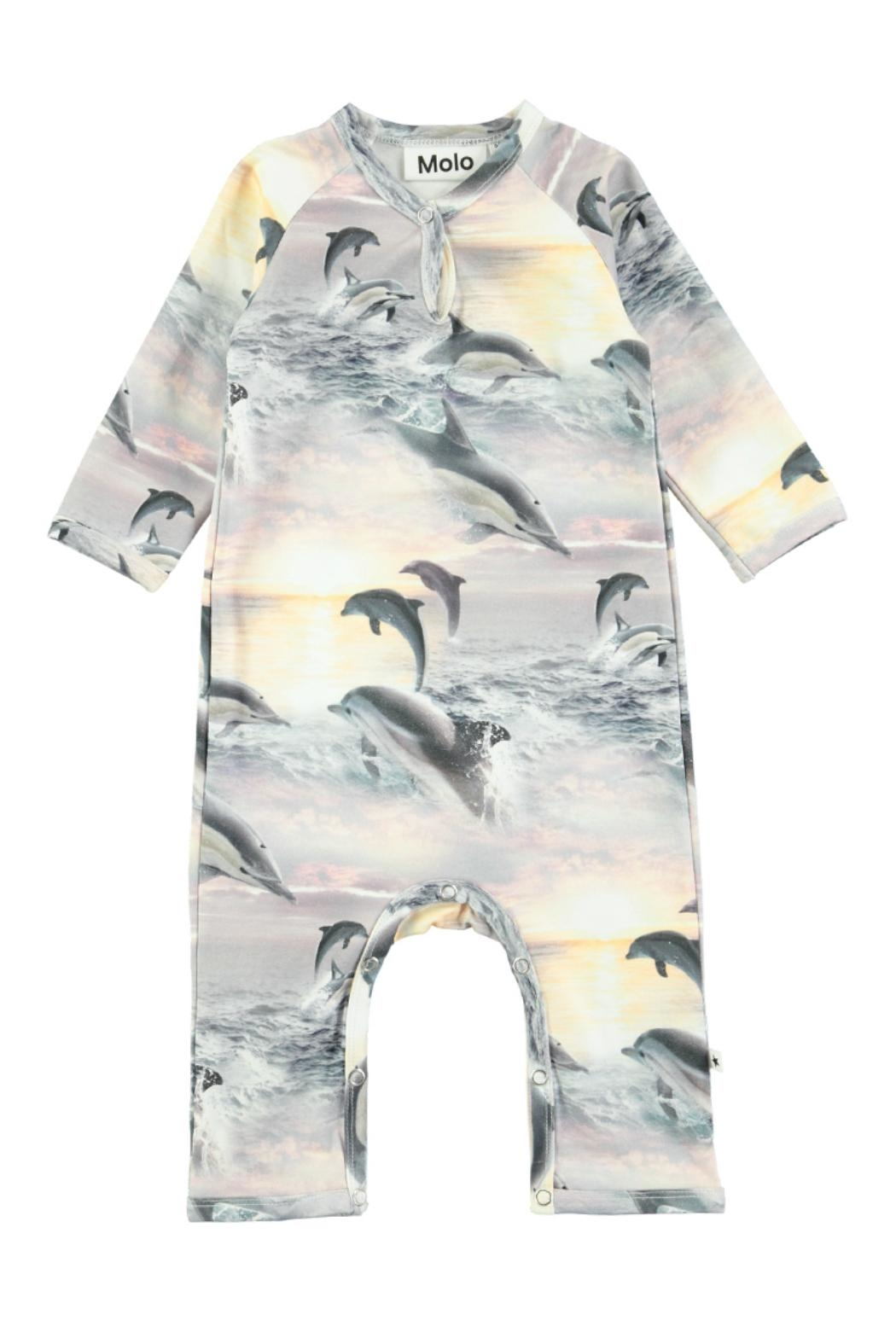 Molo Fiona Dolphins Playsuit - Main Image