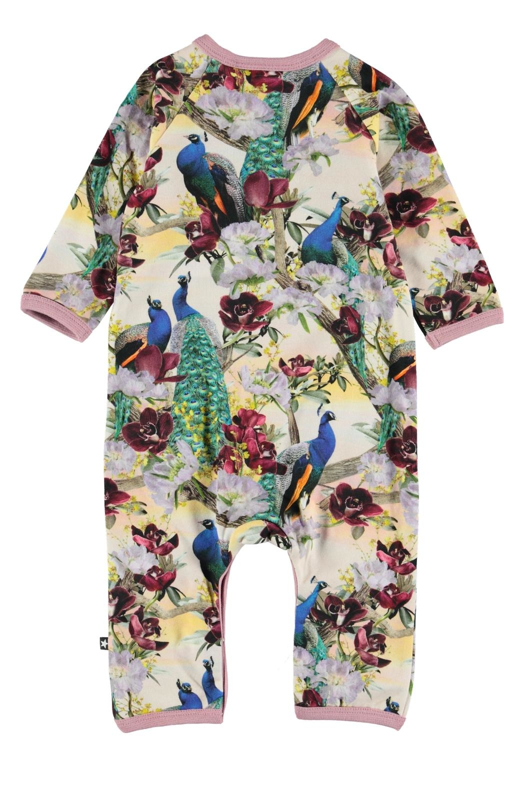 Molo Fiona Peacocks Playsuit - Front Full Image