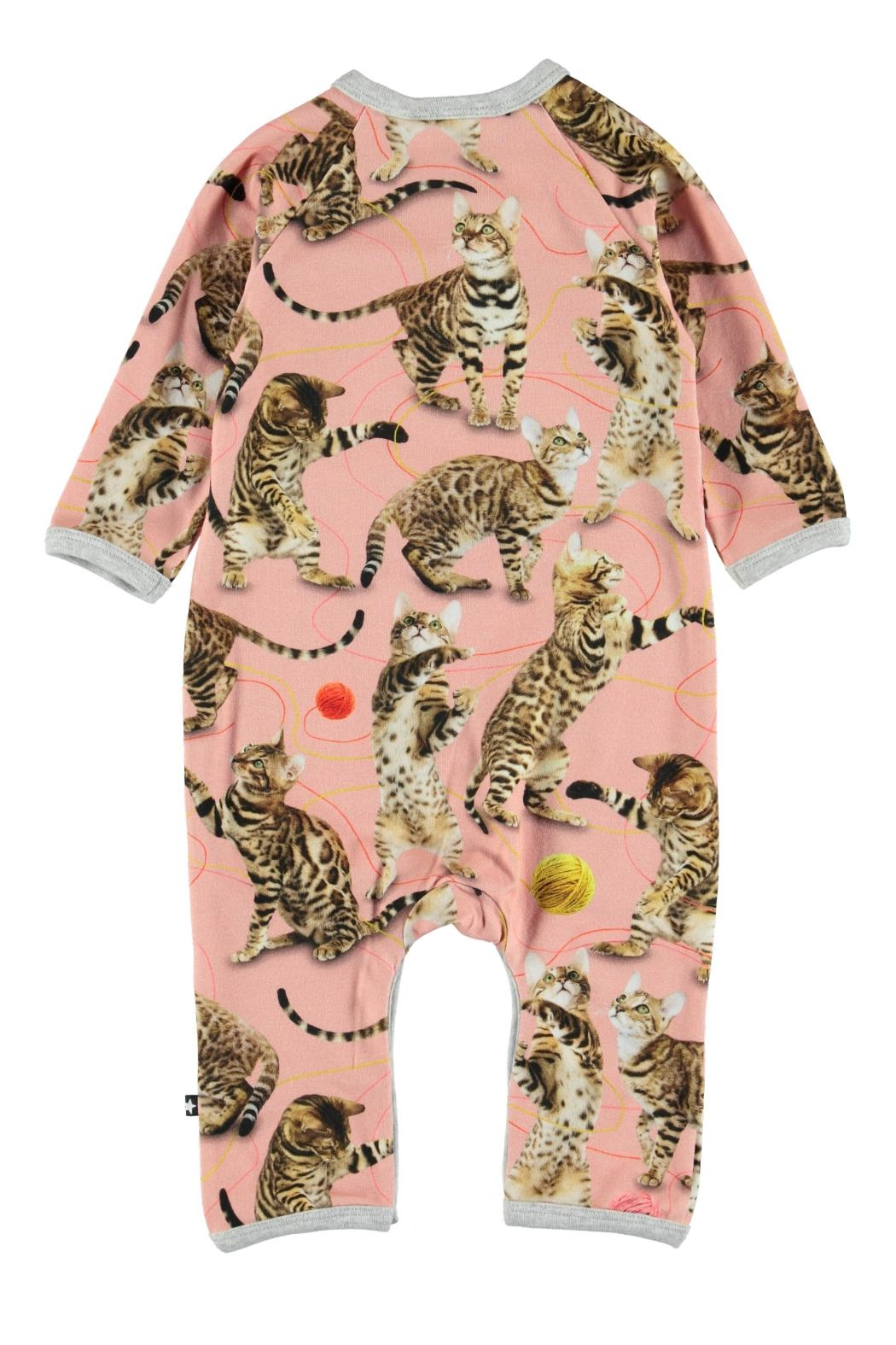 Molo Fiona Wannabe Leopard Playsuit - Front Full Image