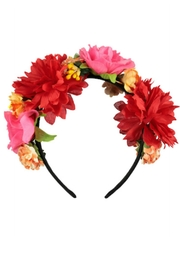 Molo Floral Headband - Front cropped