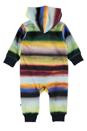Molo Fowo Cosmic Rainbow Suit - Front full body