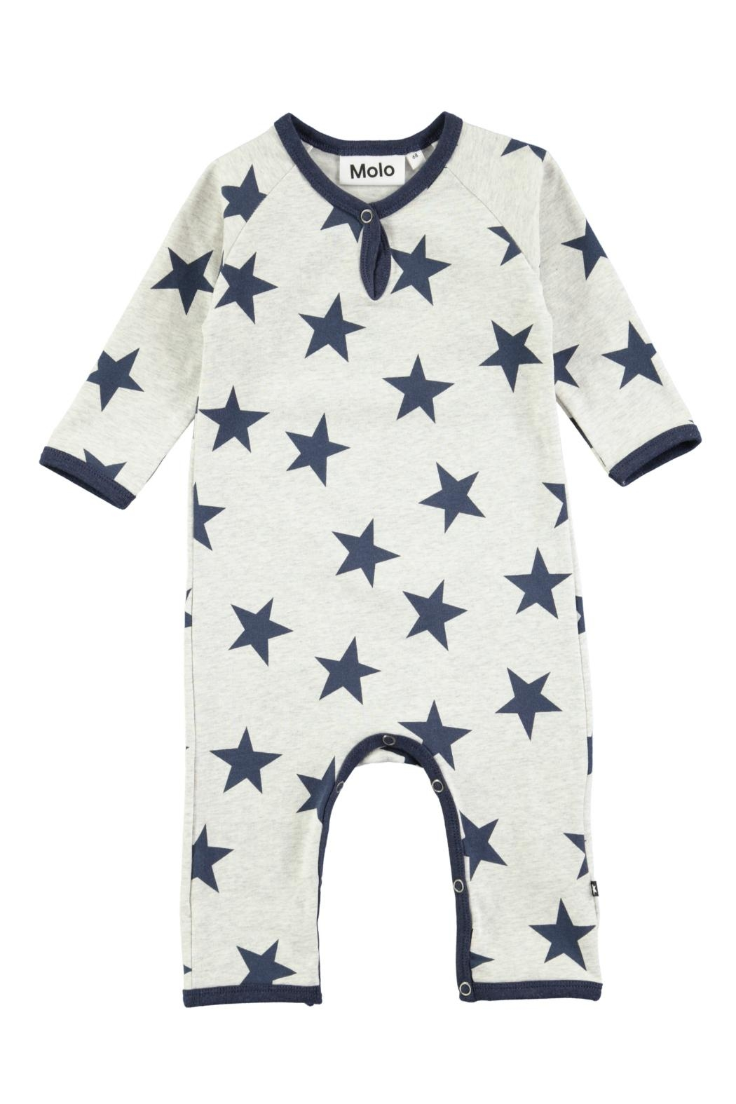 Molo Indigo Star Playsuit - Main Image