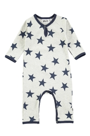 Molo Indigo Star Playsuit - Front cropped