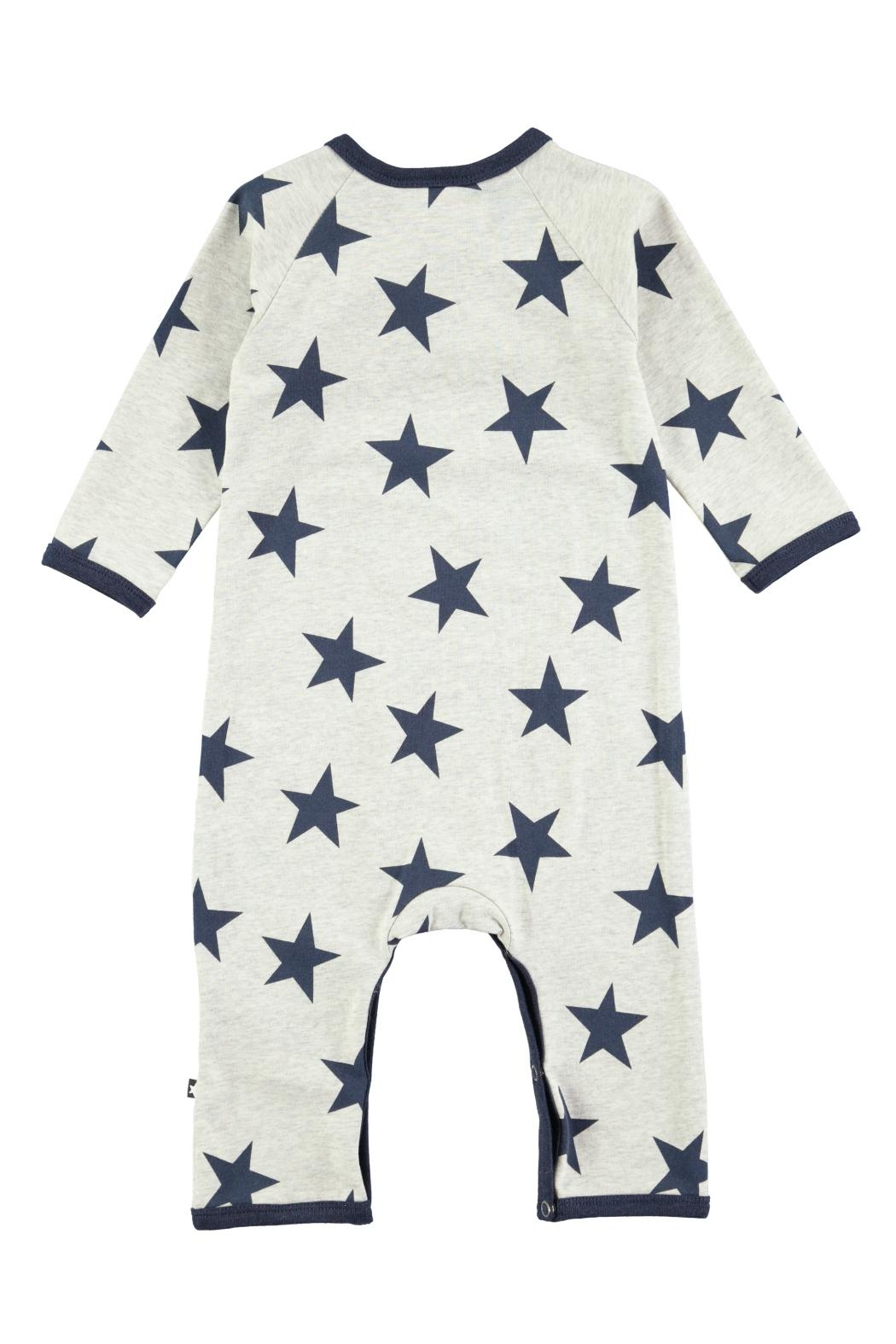 Molo Indigo Star Playsuit - Front Full Image