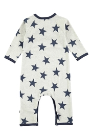 Molo Indigo Star Playsuit - Front full body