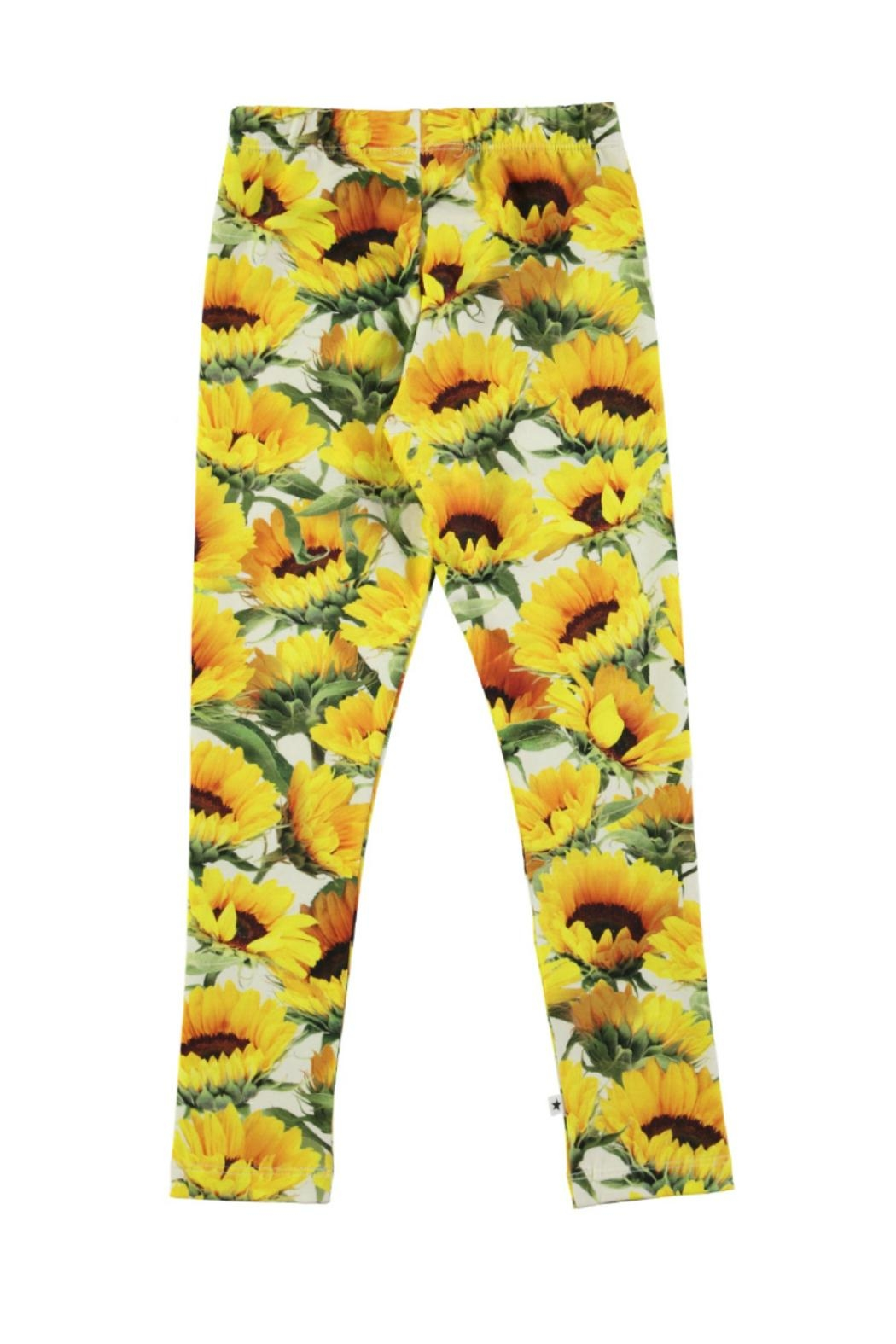 Molo Niki Sunflowers Leggings - Front Full Image